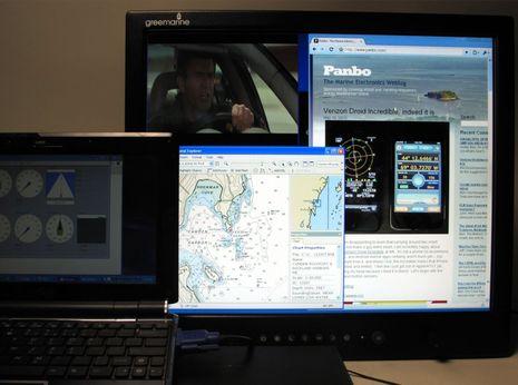 Green Marine monitors, first look thumbnail