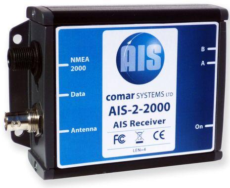 Comar AIS-2-2000 receiver, & N2K firmware updates thumbnail