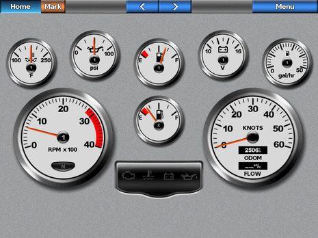 Yamaha Trim Gauge Adjustment