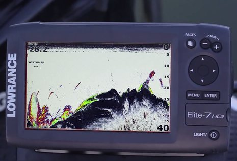 how to use a lowrance elite 7x hdi