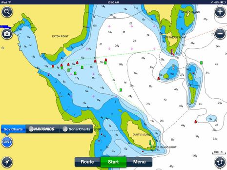 panbo the marine electronics hub navionics boating app now with free u s charts. Black Bedroom Furniture Sets. Home Design Ideas