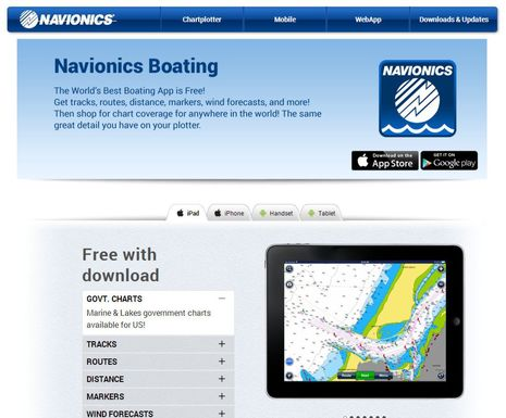 how to use navionics on android