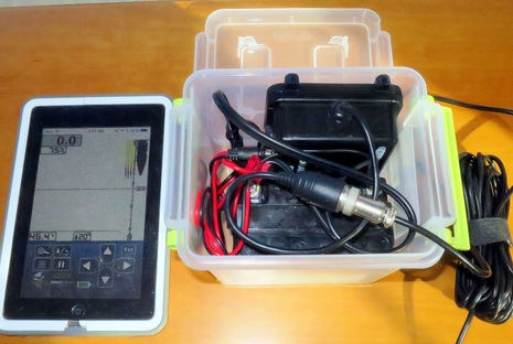 panbo: the marine electronics hub: vexilar t-box wifi fishfinder, Fish Finder