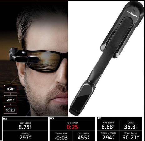 Garmin Nautix and hands-free in-view display