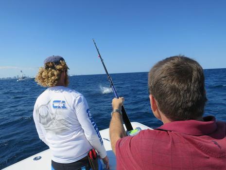 Adam Hyde Fishing Sailfish