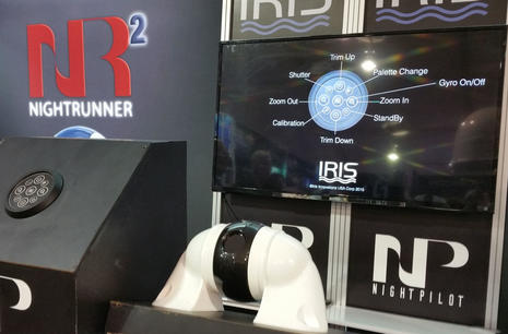 Iris NightPilot thermal camera at Fort Lauderdale Boat Show 2015