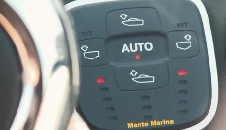 Mente Marine ACS automatic trim tab control system