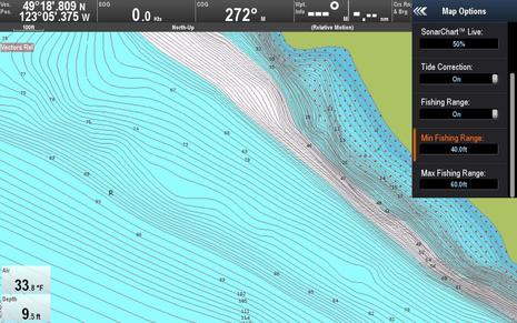 Raymarine Lighthouse r17 Advanced Map Options