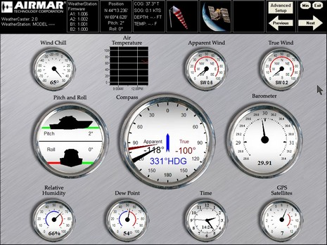 Airmar WeatherCaster 2