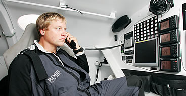 Alex Thomson Hugo Boss