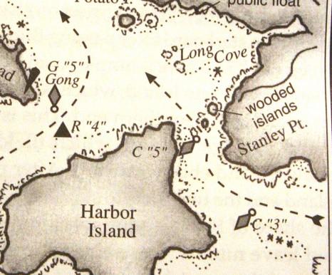 Burnt sketch Maine Coast Guide