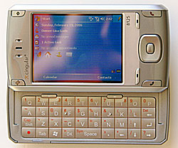Cingular 8125 w keyboard