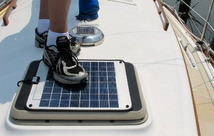 Panbo The Marine Electronics Hub The Solar Stik Power