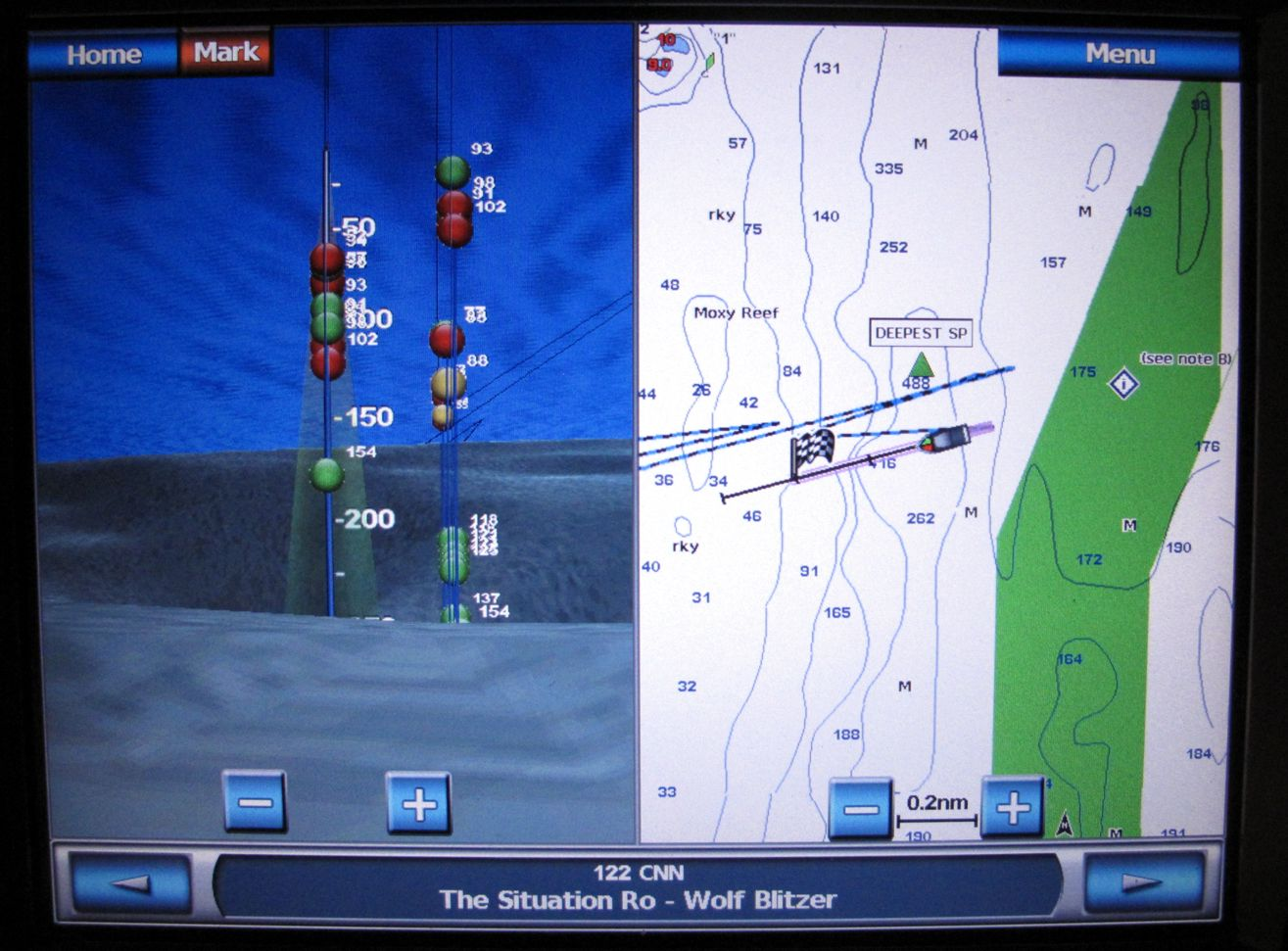 panbo: the marine electronics hub: garmin bluechart g2 & g2 vision, Fish Finder