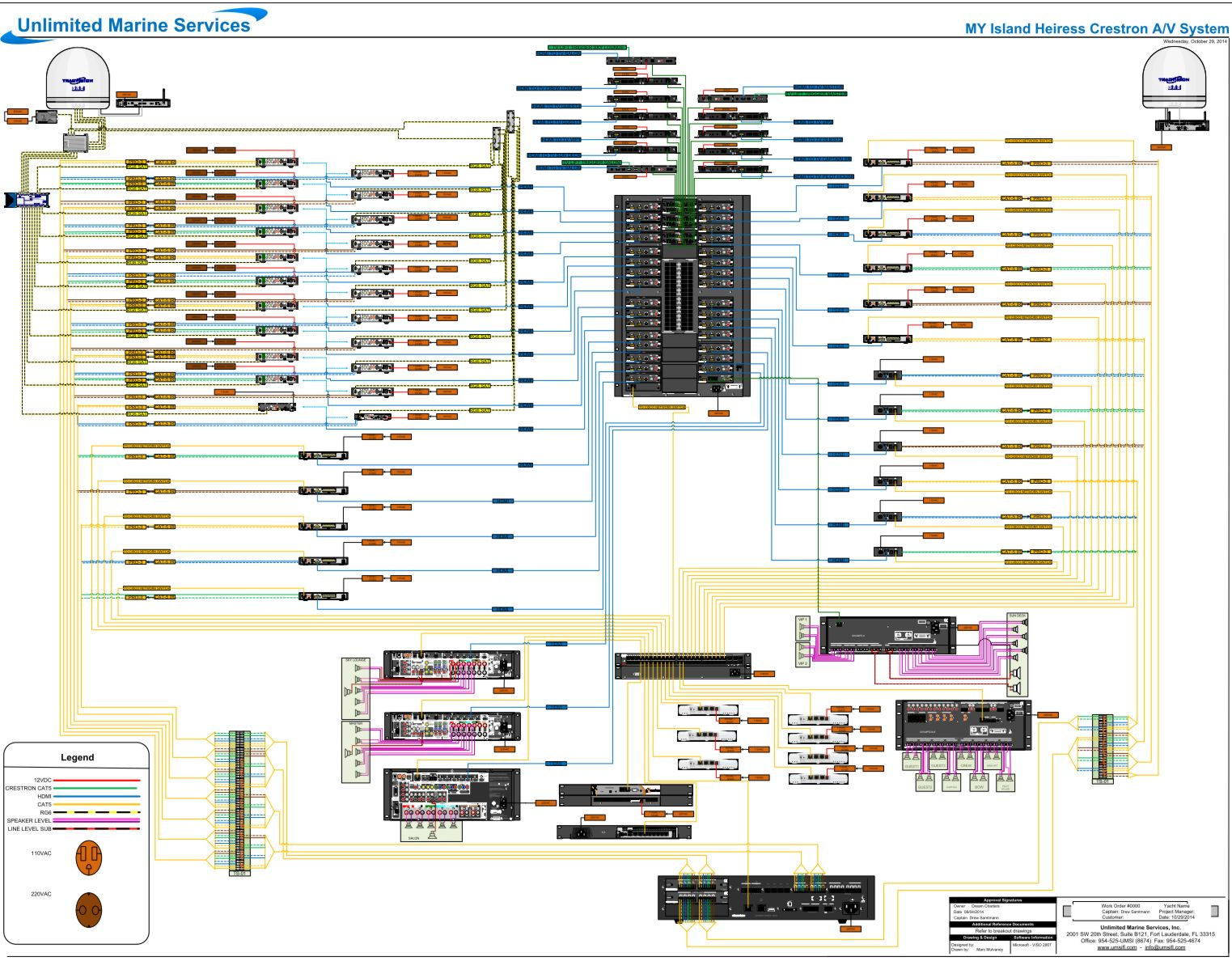 Island_Heiress_AV_ _Crestron_diagram_at_25percent_cPanbo panbo the marine electronics hub mega av umsi installs kvh ip crestron wiring diagram at pacquiaovsvargaslive.co