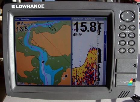 Lowrance sonar recording