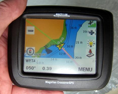 Magellan Crossover marine screen cPanbo