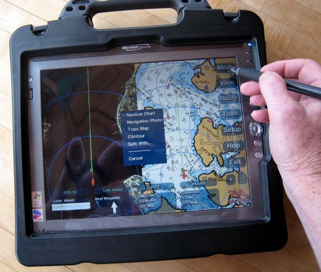 Maptech Navigator Motion Tablet cPanbo