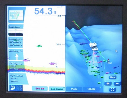panbo: the marine electronics hub: maptech i3 fishfinder road trip, Fish Finder