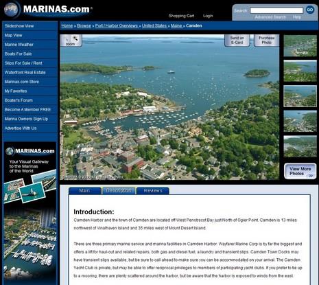 Marinas.com Camden