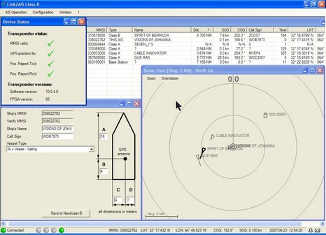 Nauticast B software c Panbo