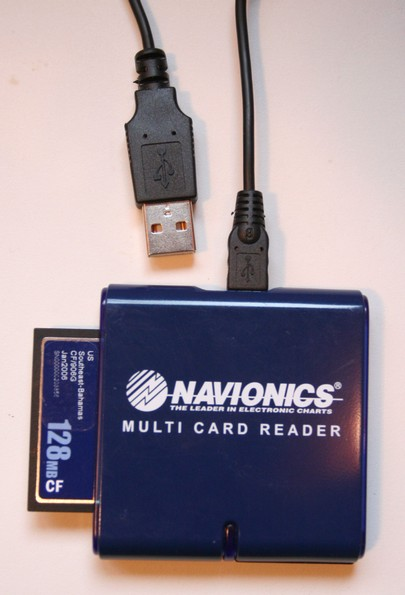 NavPlanner card reader