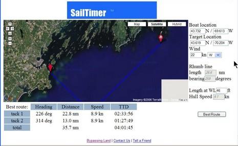 NavSim SailTimer cPanbo