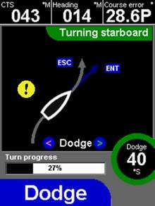 Navman AP338 dodge_screen