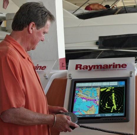 Raymarine G190 c Panbo