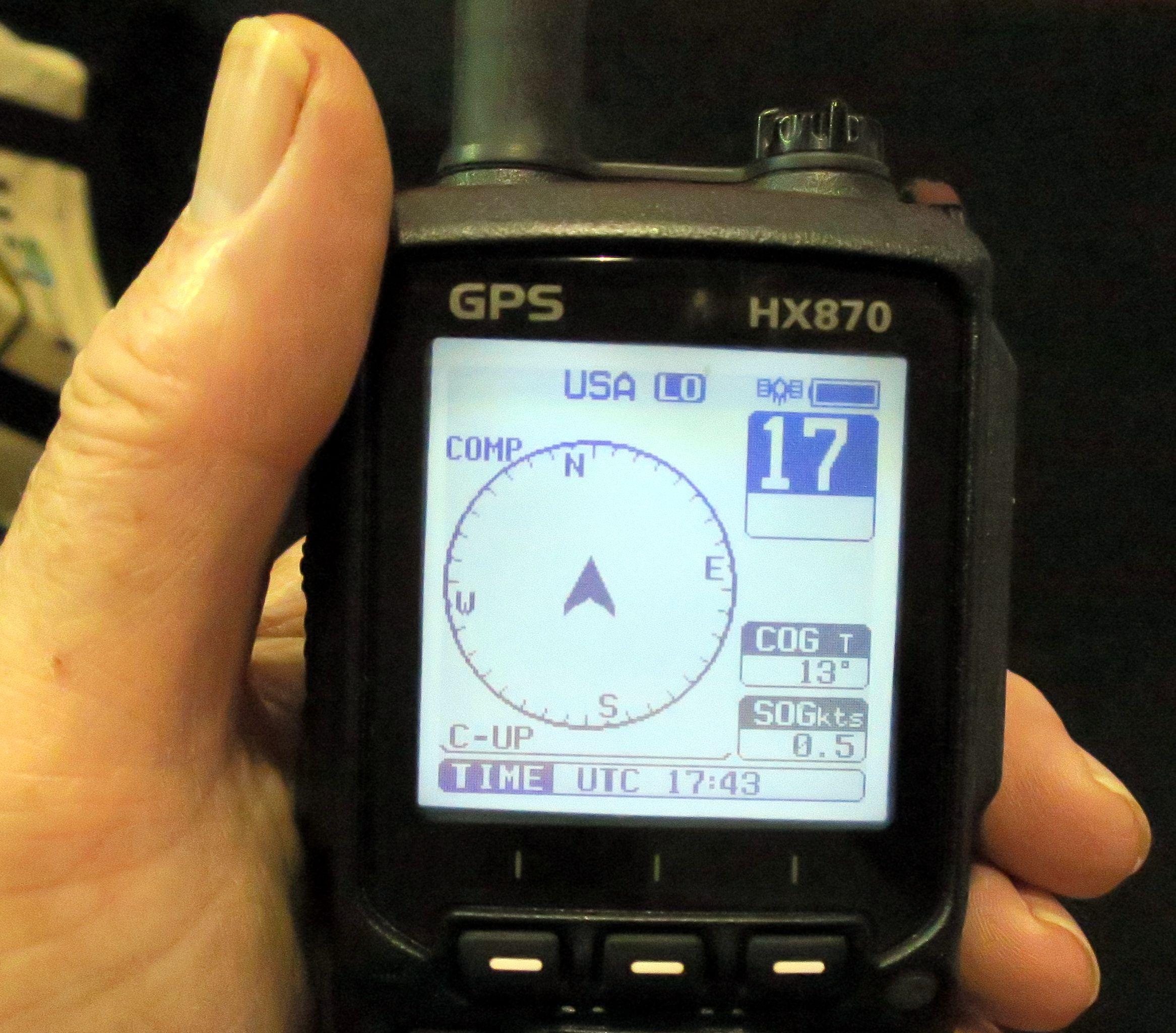 Garmin Gps Update >> Panbo: The Marine Electronics Hub: Standard Horizon HX870 ...