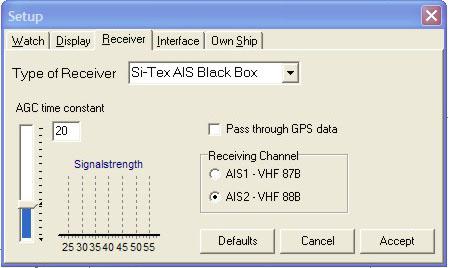 Yacht AIS black box controller
