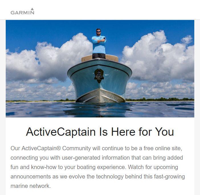 Garmin & Navionics part 2, a close look at ActiveCaptain the